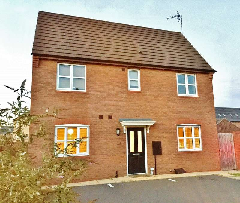 3 Bedrooms End Of Terrace House for sale in Jersey Close, NEW STOKE VILLAGE CV3