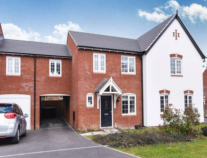 3 Bedrooms Semi Detached House for sale in Cuphill Close, Droitwich, WR9