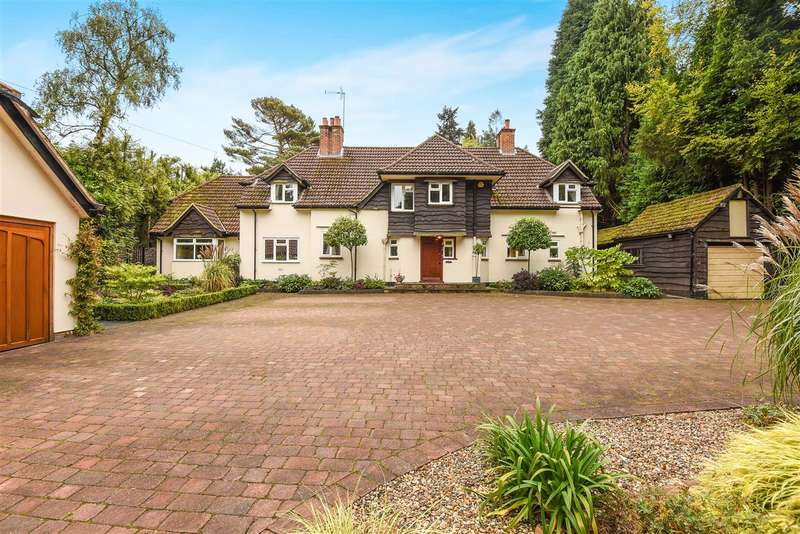 5 Bedrooms Detached House for sale in Wellingtonia Avenue, Finchampstead
