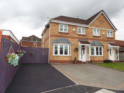 3 Bedrooms Semi Detached House for sale in Franklin Grove, Kirkby, Liverpool, Merseyside, L33