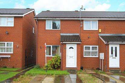 2 Bedrooms Terraced House for sale in South Street North, New Whittington, Chesterfield, Derbyshire