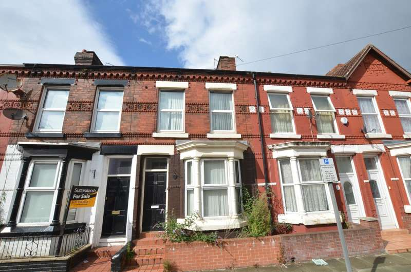 3 Bedrooms Terraced House for sale in Orwell Road, Liverpool, Merseyside, L4