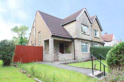 3 Bedrooms Semi Detached House for sale in Cairntoul Place, Scotstounhill, Glasgow