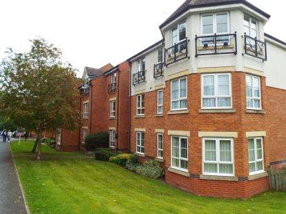 2 Bedrooms Flat for sale in Britannia Close, Redditch, Worcestershire