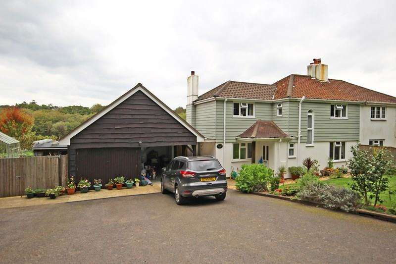 3 Bedrooms Semi Detached House for sale in Mount Pleasant Lane, Sway, Lymington