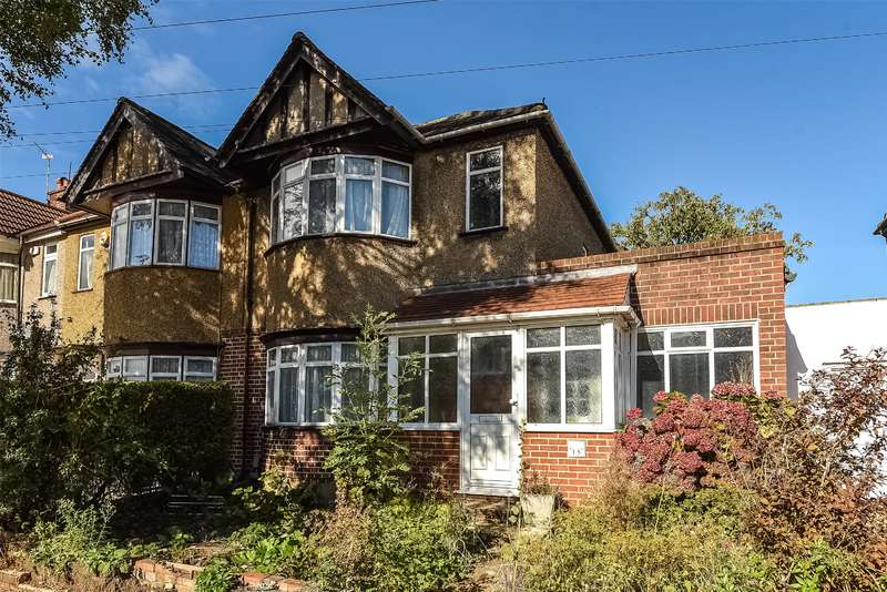 3 Bedrooms End Of Terrace House for sale in Seaton Gardens, Ruislip Manor, Middlesex, HA4
