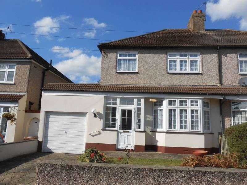 3 Bedrooms Semi Detached House for sale in Ruskin Drive, Welling