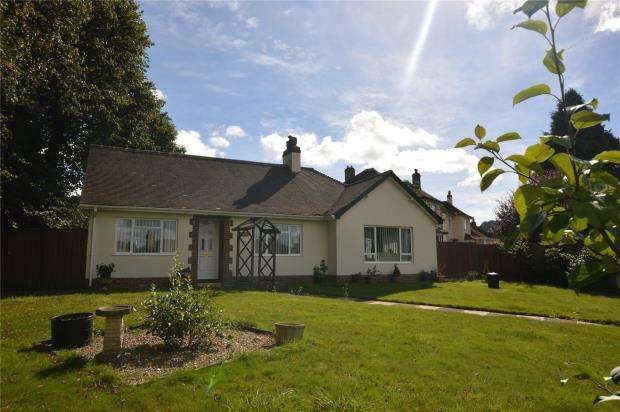 3 Bedrooms Detached Bungalow for sale in Sidmouth Road, Honiton, Devon