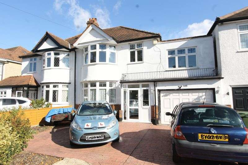 4 Bedrooms Semi Detached House for sale in Wickham Avenue, Cheam