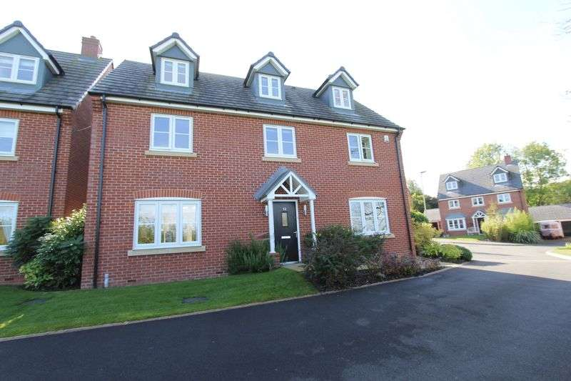 5 Bedrooms Detached House for sale in Moat Lane, Woore