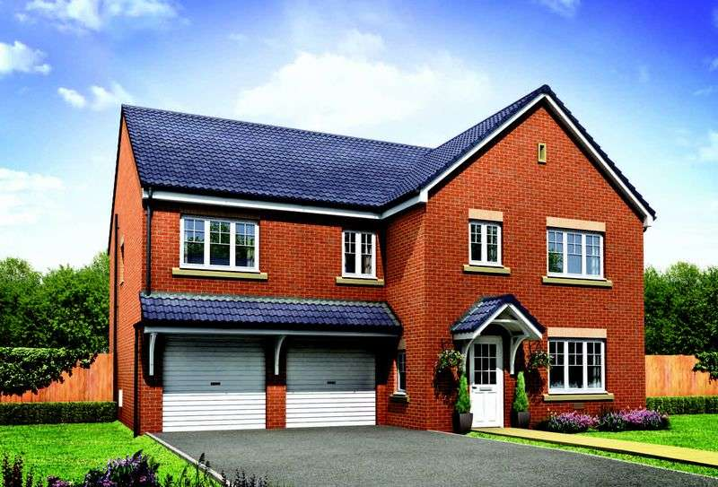 5 Bedrooms Detached House for sale in Plot 3 The Crompton, Middlewich Road, Crewe, CW4