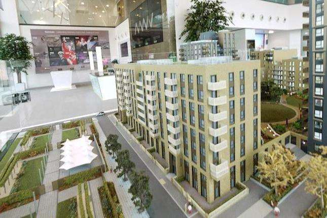 2 Bedrooms Flat for sale in Mulberry House, North West Village, Wembley Park