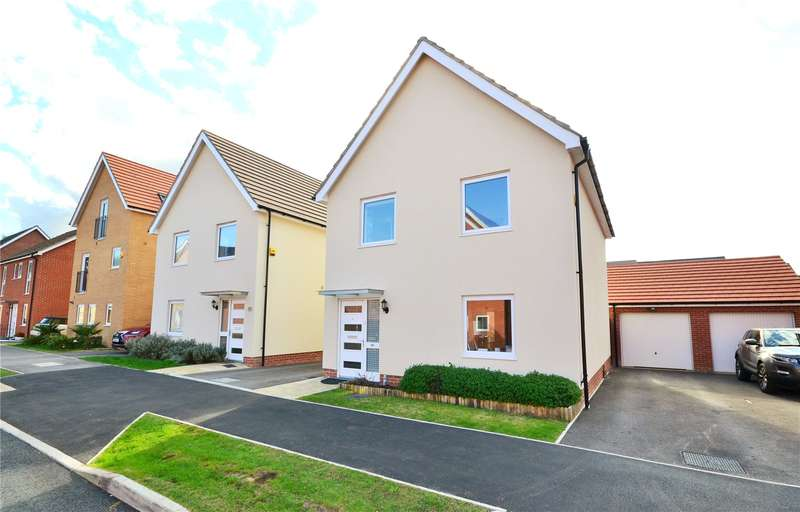 3 Bedrooms Detached House for sale in Jaguar Lane, Bracknell, Berkshire, RG12