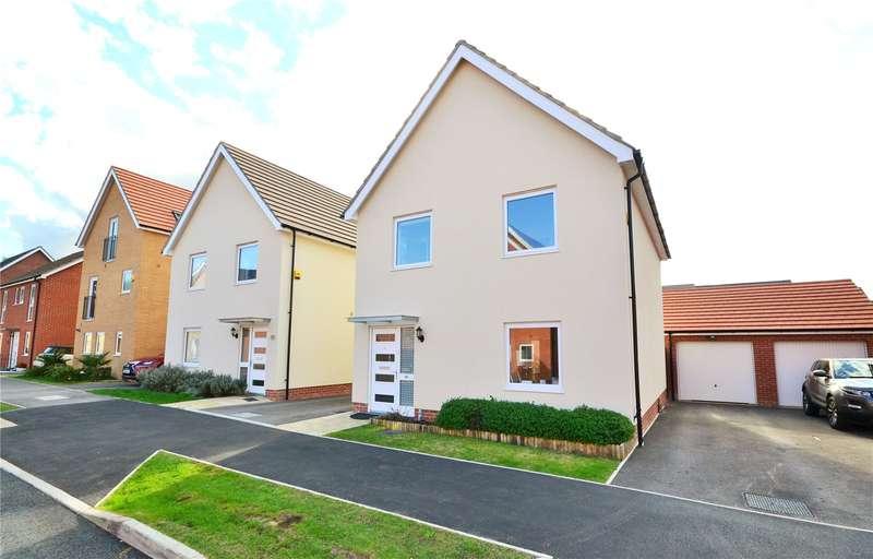 3 Bedrooms Detached House for sale in Jaguar Lane, Bracknell, Berkshire, RG12