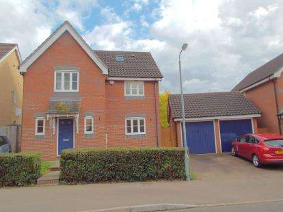 4 Bedrooms Detached House for sale in Horsford, Norwich, Norfolk