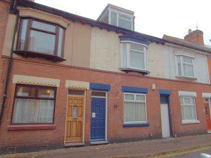 3 Bedrooms Terraced House for sale in Beaumanor Road, Leicester