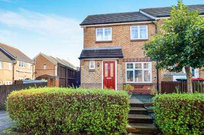 3 Bedrooms Town House for sale in Fisher Close, Sutton-In-Ashfield, Nottinghamshire