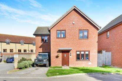 4 Bedrooms Detached House for sale in Laxfield Drive, Broughton, Milton Keynes, Buckinghamshire