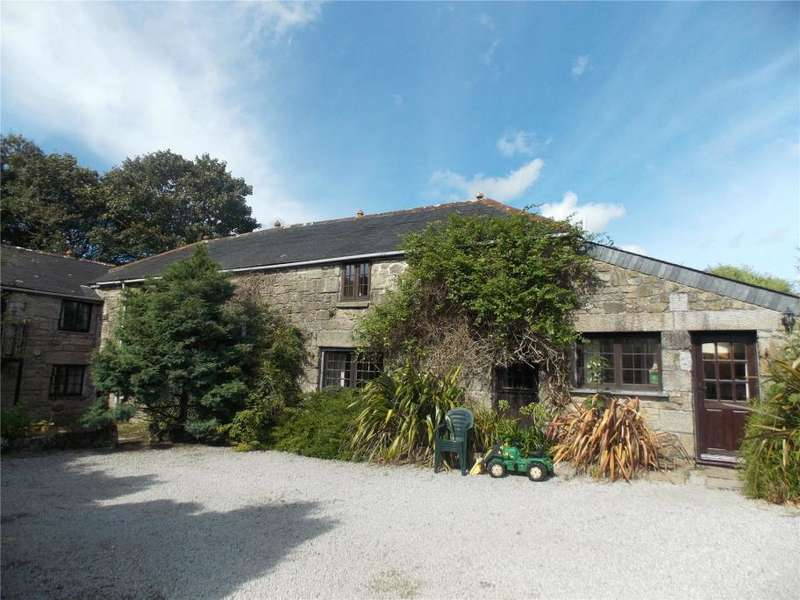4 Bedrooms Barn Conversion Character Property for sale in Trethellan Water, Nr Stithians