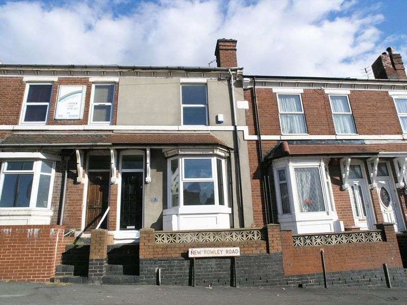 2 Bedrooms Terraced House for sale in DUDLEY, New Rowley Road