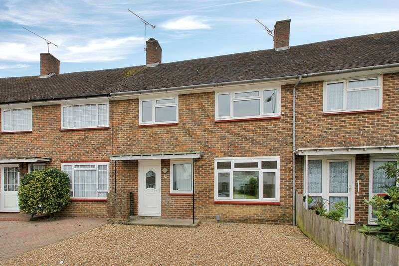 3 Bedrooms Terraced House for sale in Ashdown Drive, Tilgate, Crawley, West Sussex