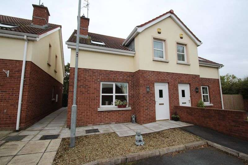 3 Bedrooms Semi Detached House for sale in 9 Seagoe Mews, Portadown