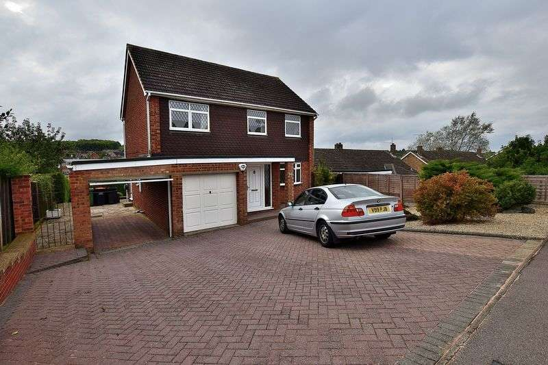 4 Bedrooms Detached House for sale in Bibshall Crescent, Dunstable