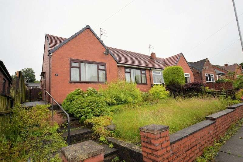 2 Bedrooms Semi Detached Bungalow for sale in Louvaine Avenue, Barrow Bridge, Bolton