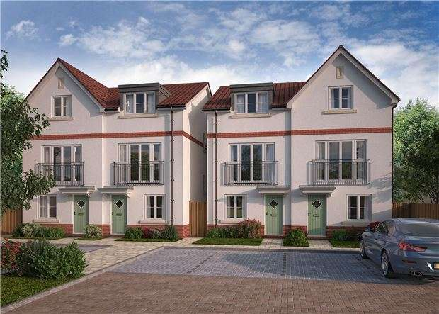 4 Bedrooms Town House for sale in Charlotte Mews, Cadbury Heath, Heath Rise, BRISTOL, BS30 8DD