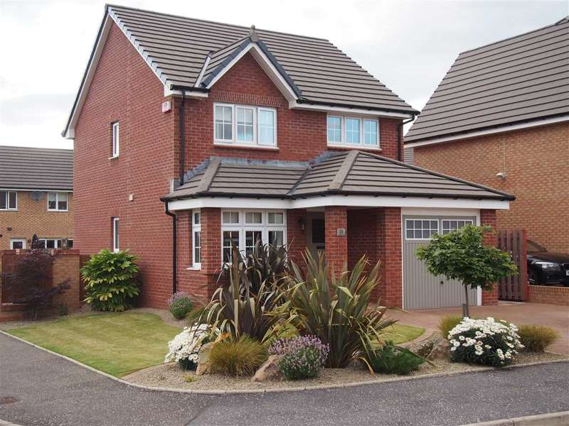 3 Bedrooms Detached House for sale in Vesuvius Drive, Motherwell