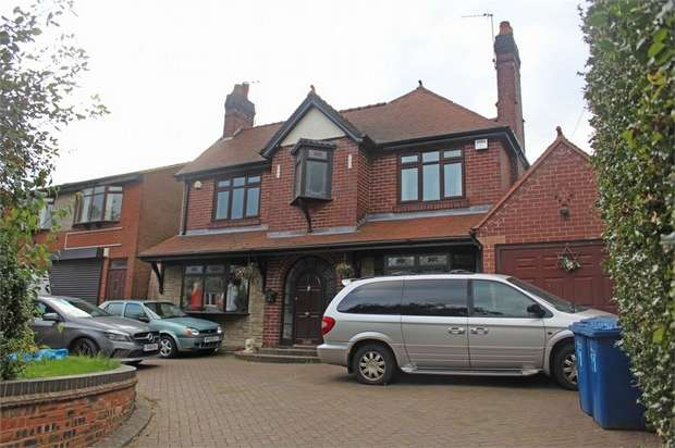 4 Bedrooms Detached House for sale in Boney Hay Road, Burntwood, Staffordshire