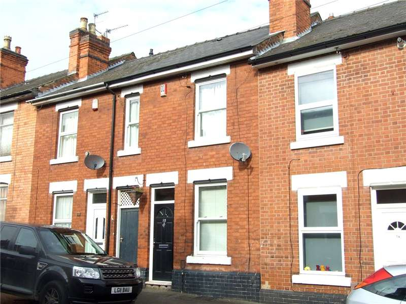 2 Bedrooms Terraced House for sale in Wild Street, Derby, Derbyshire, DE1
