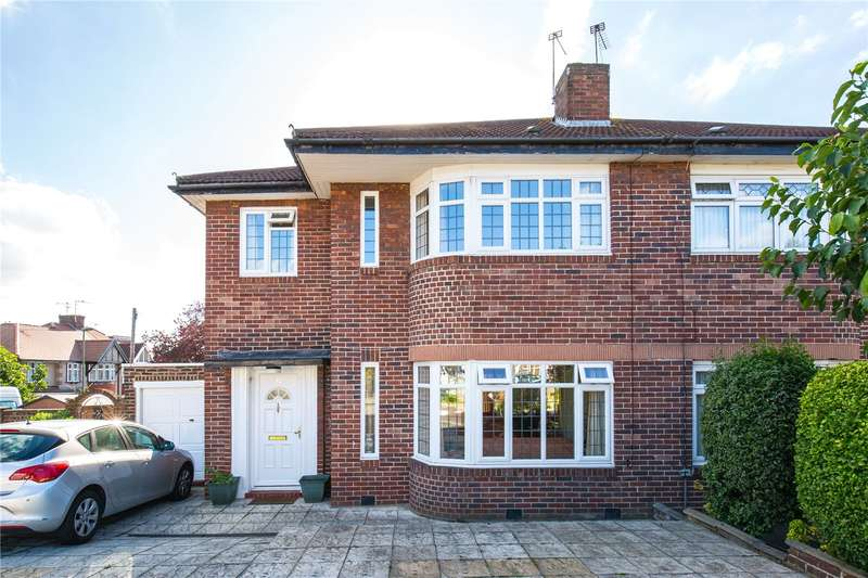 3 Bedrooms Semi Detached House for sale in St. James Avenue, London, N20
