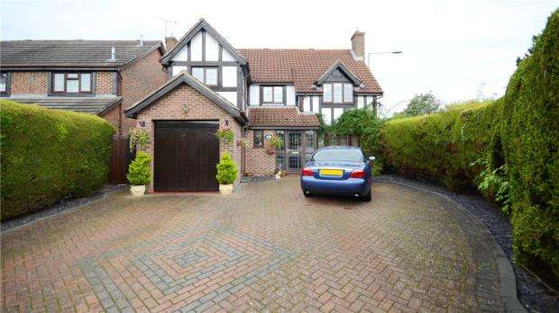 4 Bedrooms Detached House for sale in Hilmanton, Lower Earley, Reading