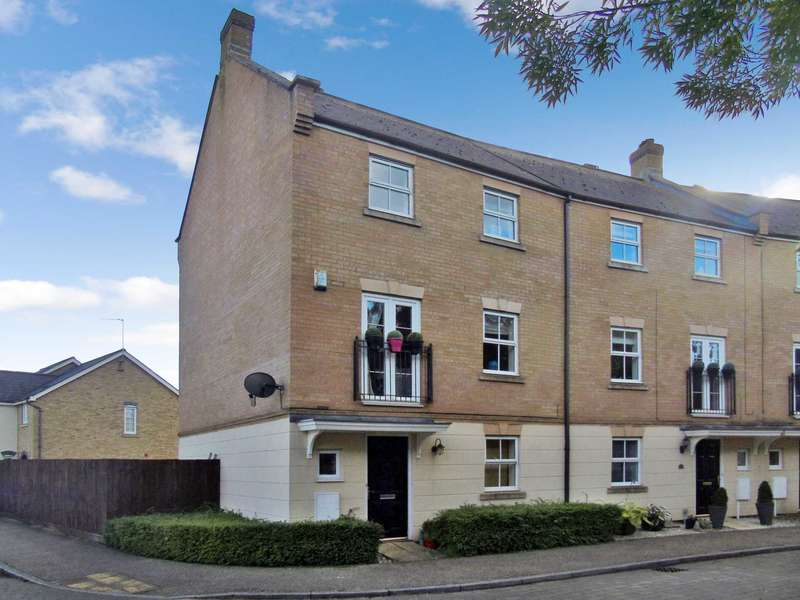 4 Bedrooms End Of Terrace House for sale in Allington Circle, Milton Keynes