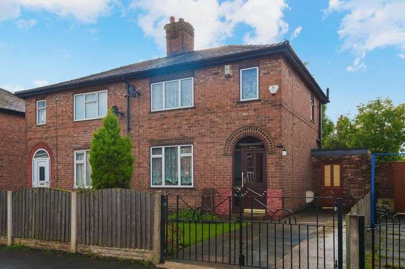 3 Bedrooms Semi Detached House for sale in Whitley Avenue, Warrington