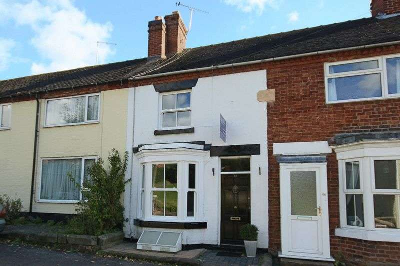2 Bedrooms Terraced House for sale in Great Hales Street, Market Drayton