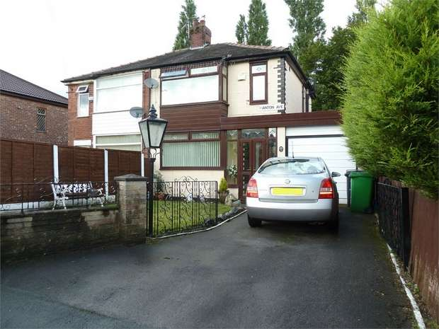 3 Bedrooms Semi Detached House for sale in Manton Avenue, Manchester