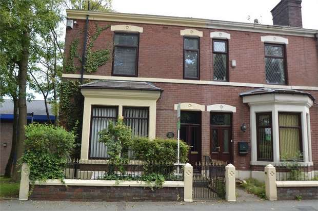 4 Bedrooms End Of Terrace House for sale in Bury New Road, Whitefield, MANCHESTER, Lancashire