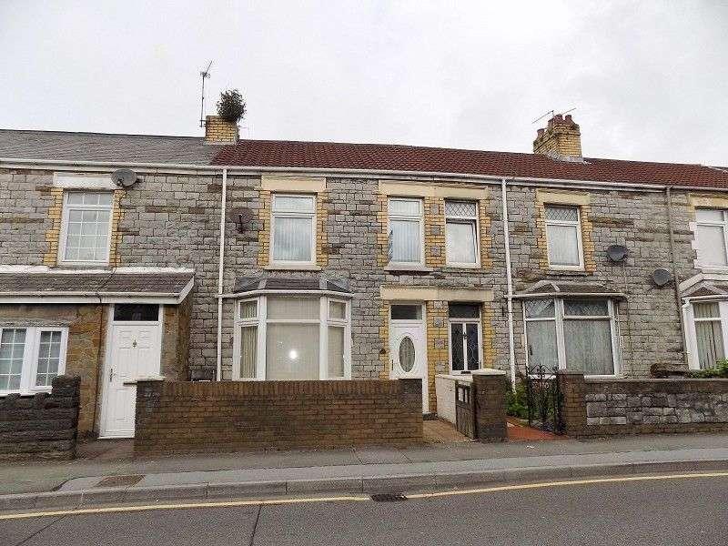 3 Bedrooms Terraced House for sale in Bridge Street, Kenfig Hill, Bridgend. CF33 6DD