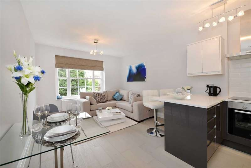2 Bedrooms Flat for sale in Knoll House, London, NW8