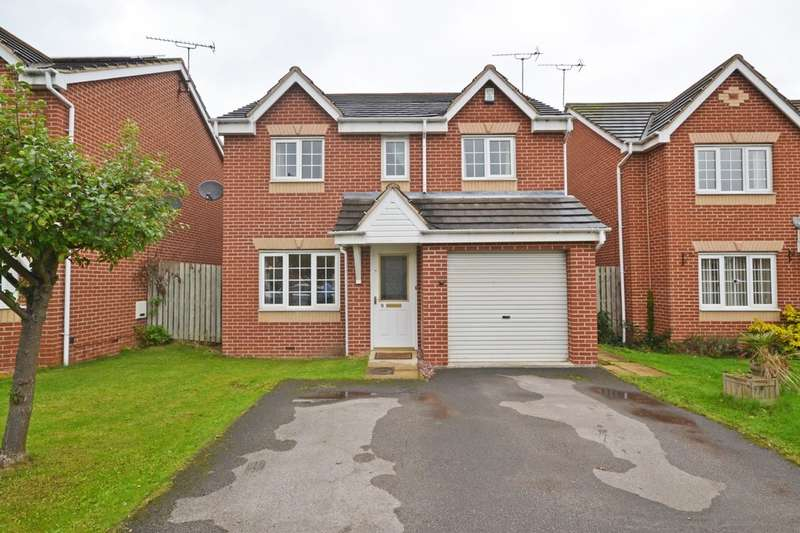 4 Bedrooms Detached House for sale in Troon Close, Normanton