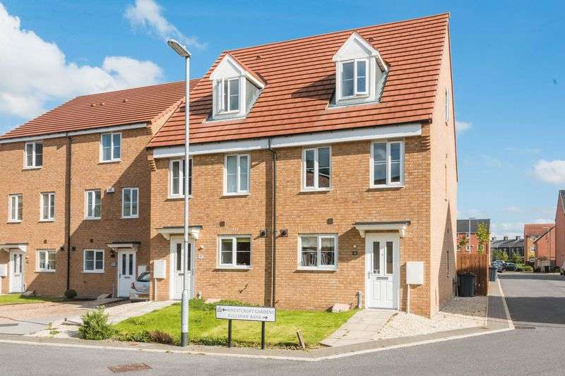 3 Bedrooms Semi Detached House for sale in Wheatcroft Gardens, Penistone, S36 6GA - No Chain Involved - Early Completion Available