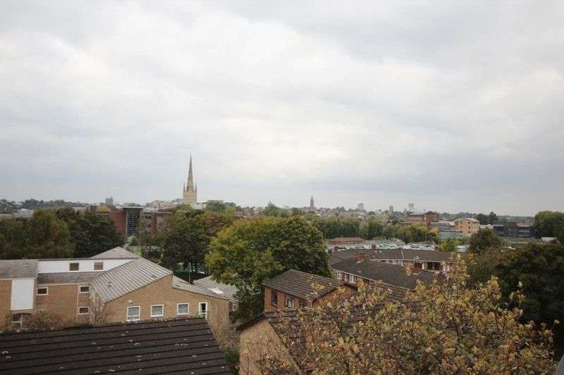 2 Bedrooms Flat for sale in St. James Close, Norwich