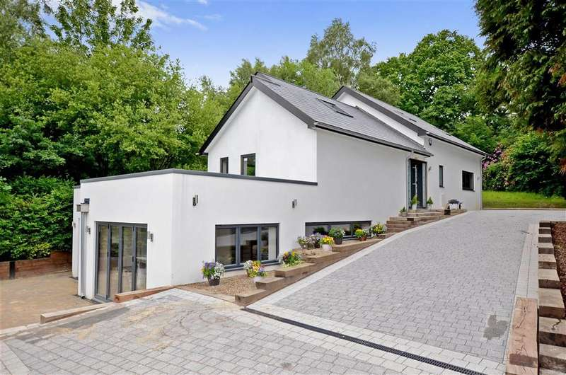 5 Bedrooms Detached House for sale in School Lane, Crowborough, East Sussex