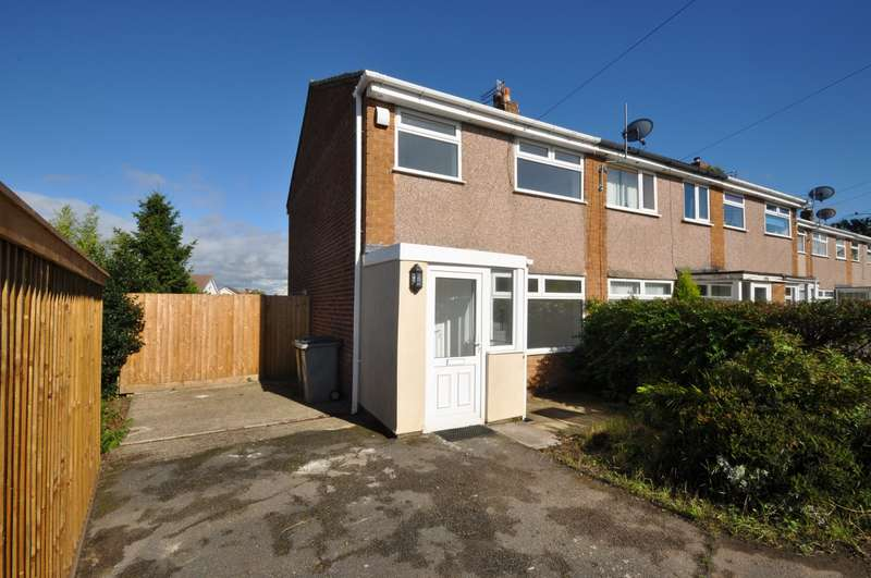 3 Bedrooms End Of Terrace House for sale in Anderson Close, Irby
