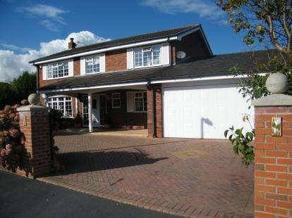 4 Bedrooms Detached House for sale in Pintail Place, Winsford, Cheshire, England, CW7