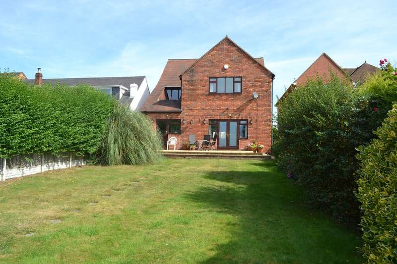 4 Bedrooms Detached House for sale in Highfields Road, Chasetown, Burntwood, WS7 4QU