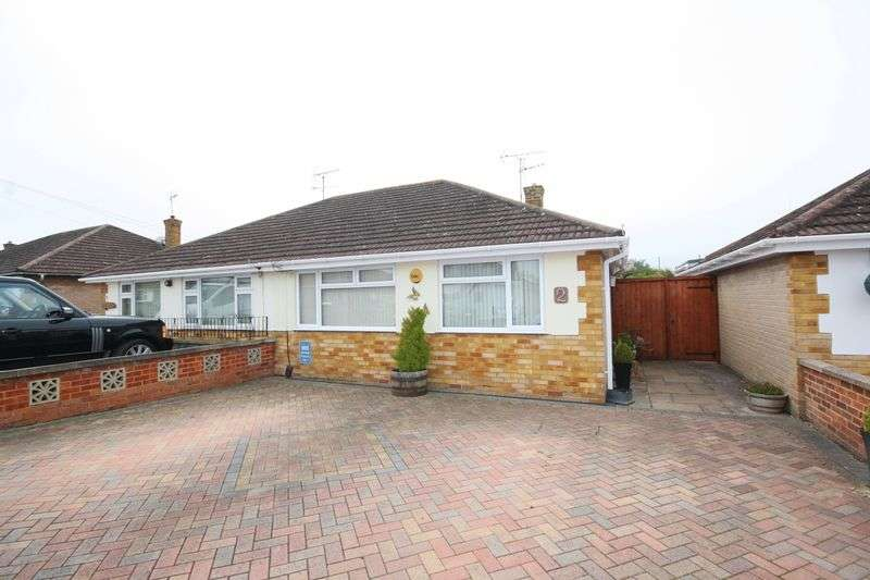 2 Bedrooms Semi Detached Bungalow for sale in St. Davids Close, Warden Hill