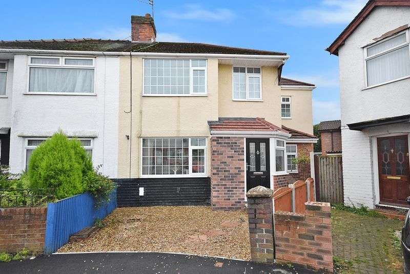 4 Bedrooms Semi Detached House for sale in Farnworth Close, Widnes